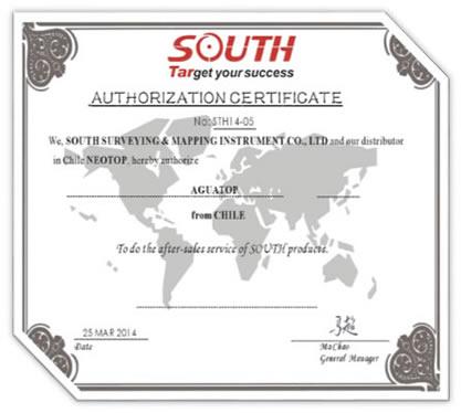 Certificado South